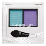Misslyn High Shine Duo Eyeshadow 124