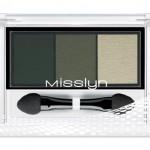Misslyn High Shine Trio Eyeshadow 70