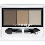 Misslyn High Shine Trio Eyeshadow 83