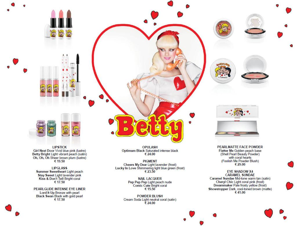 MAC Archie'sGirls Betty