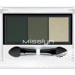 Misslyn High Shine Trio Eyeshadow 70