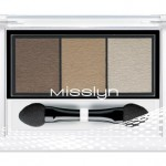 Misslyn High Shine Trio Eyeshadow 83