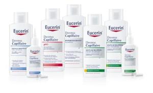 Eucerin® DermoCapillaire Kopfhaut- und Haarpflege-Serie