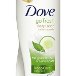 Dove go fresh Body Lotion mit grünem Tee- & Gurkenduft
