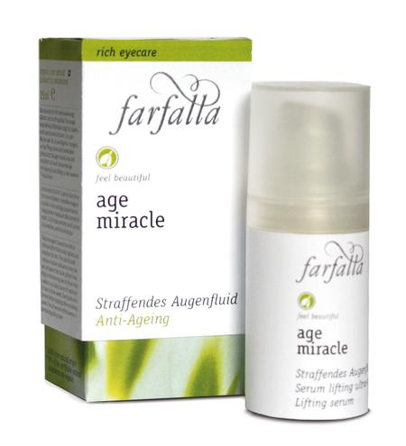 farfalla age miracle Straffendes Augenfluid