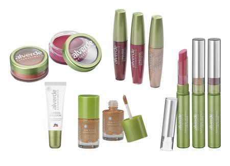 alverde NATURKOSMETIK Rouge & Lippen Make-up